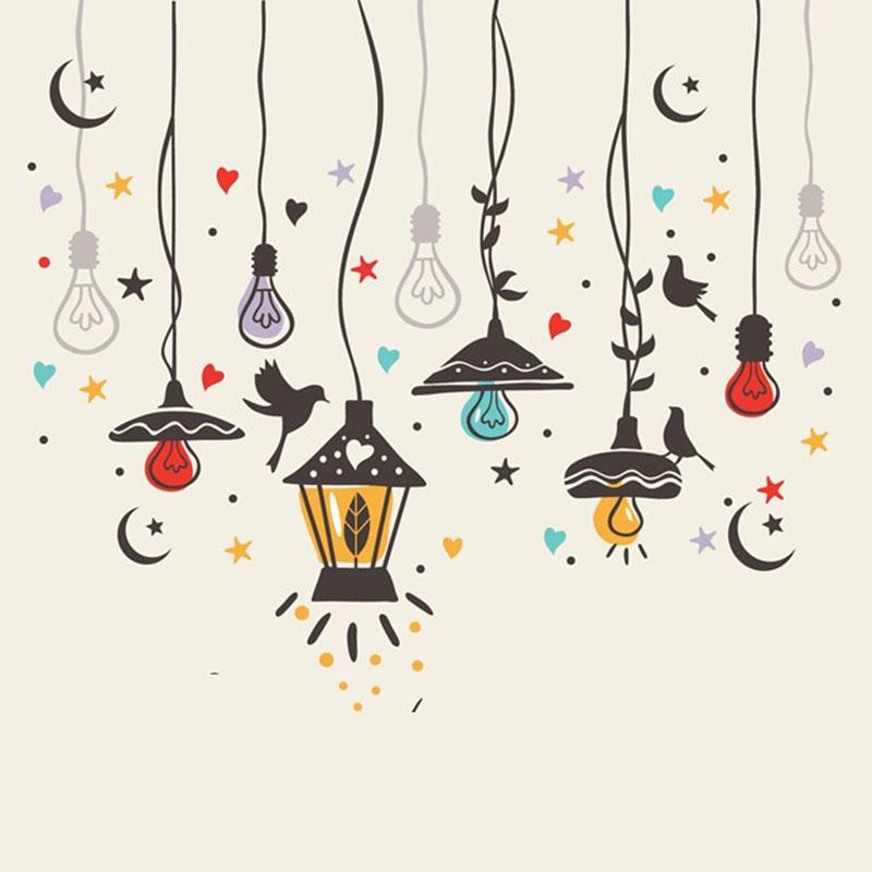 Estrellas de luz que alegran la vida.